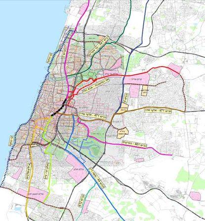 Вот карта маршрутов